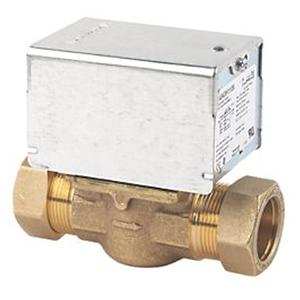 Underfloor heating motorized valve
