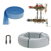 Underfloor heating 100m2 kit